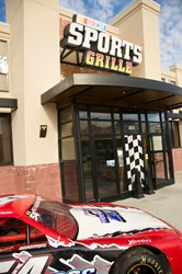 NASCAR Sports Grill Picture