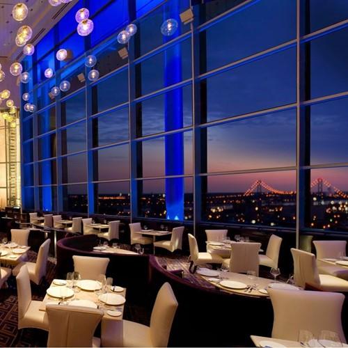 Motor city casino iridescence wrest point casino revolving restaurant menu