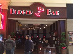 Image Of Burger Bar