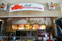 Villa Pizza Picture