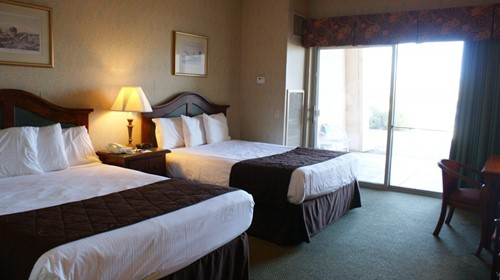 TWO QUEENS Room At BlueWater Resort & Casino
