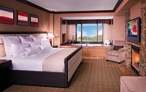 Spa Suites Room At Ameristar Casino Resort Spa Black Hawk
