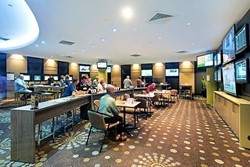 CSI Poker Room Rest