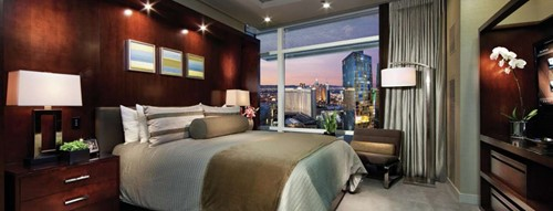Two Bedroom Penthouse Room At Aria Resort & Casino