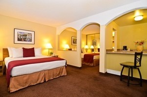 Double Queen Room At Best Western Mardi Gras Hotel & Casino