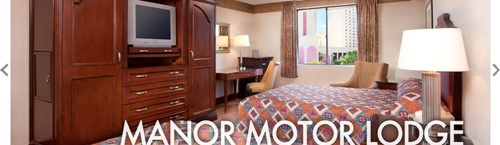 Manor Motor Lodge Room At Circus Circus Hotel Casino - Las Vegas