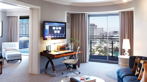 Terrace Suite Room At The Cosmopolitan of Las Vegas