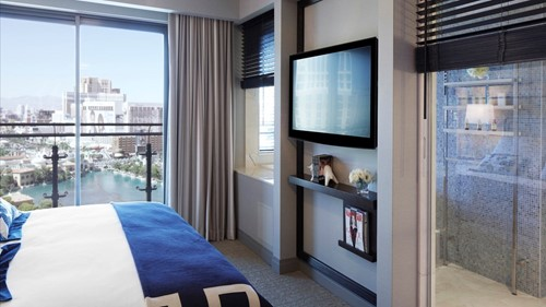 Terrace One Bedroom Room At The Cosmopolitan of Las Vegas