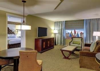 Resort Luxury Suite Room At Excalibur Hotel and Casino
