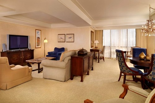 Royal Suite Room At Flamingo Las Vegas