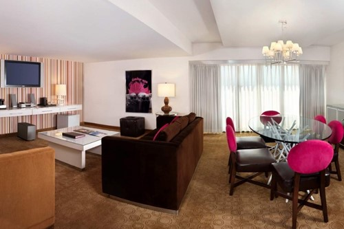 Cosmopolitan Suite Room At Flamingo Las Vegas