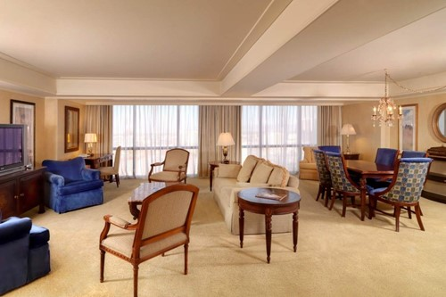 Luxury Suite Room At Flamingo Las Vegas