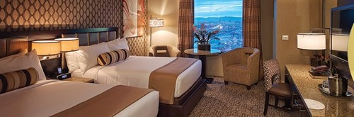 Rush Tower Gold Club Room At Golden Nugget Las Vegas