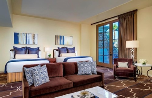 Executive Two Queen Suite Room At Green Valley Ranch Resort, Spa and Casino