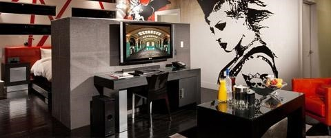 Pool Villa Suite (Red & Black) Room At Hard Rock Hotel and Casino