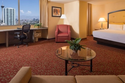 Deluxe One‐Bedroom Suite Room At Westgate Las Vegas Resort and Casino