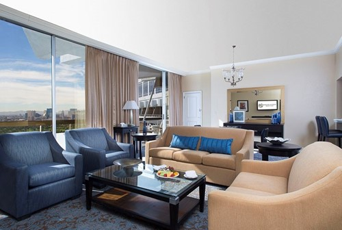 Luxury One-Bedroom Suite Room At Westgate Las Vegas Resort and Casino