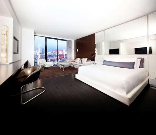 The Studio Suite Room At The Palms Casino Resort