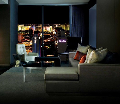 One Bedroom Suite Room At The Palms Casino Resort