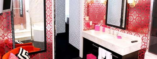 Hot Pink Suite Room At The Palms Casino Resort