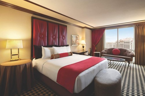 Red Room Room At Paris Las Vegas