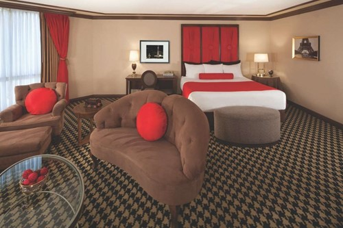 Classic Red Suite Room At Paris Las Vegas