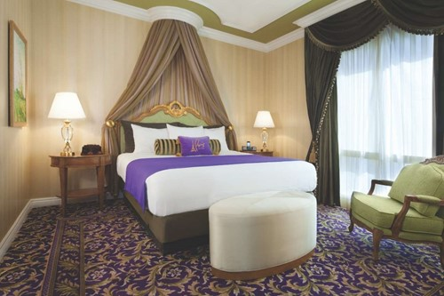 Charlemagne Suite Room At Paris Las Vegas