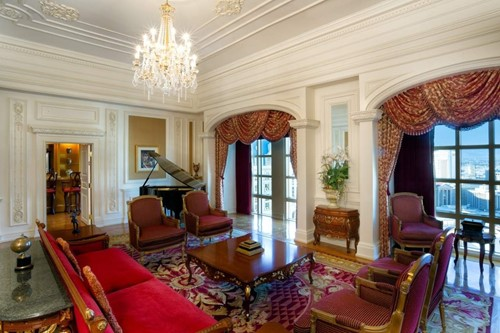 Louis XV Suite Room At Paris Las Vegas