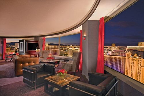 Panorama Suite Room At Planet Hollywood Resort & Casino