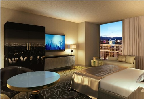 Ultra Hip Premium Room At Planet Hollywood Resort & Casino