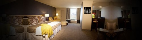Mini-Suites Room At Plaza Hotel and Casino