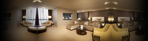 Penthouse Suites Room At Plaza Hotel and Casino