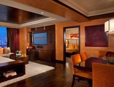 One Bedroom Luxury Suite Room At Red Rock Casino, Resort & Spa
