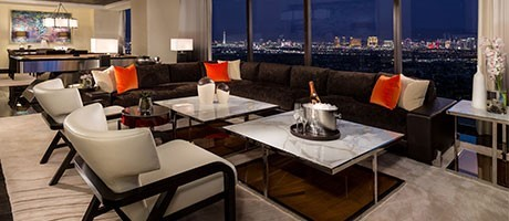 Presidential Suites Room At Red Rock Casino, Resort & Spa
