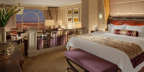 Luxury Suite Room At The Venetian Las Vegas Resort Hotel Casino