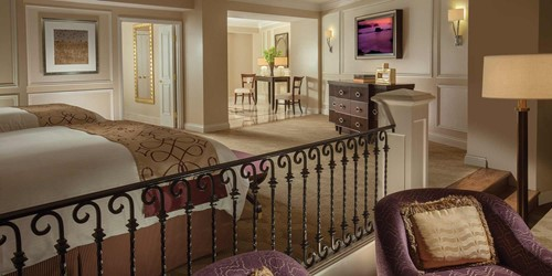 Rialto Suite Room At The Venetian Las Vegas Resort Hotel Casino