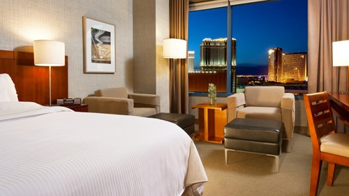 Premium Strip View Room Room At The Westin Las Vegas Hotel, Casino and Spa