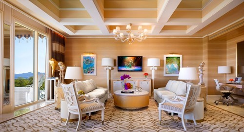Two Bedroom Fairway Villa Room At Wynn Las Vegas