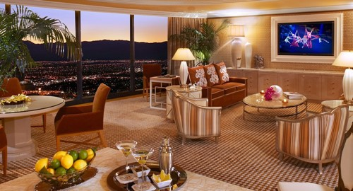 Two Bedroom Apartment Room At Wynn Las Vegas