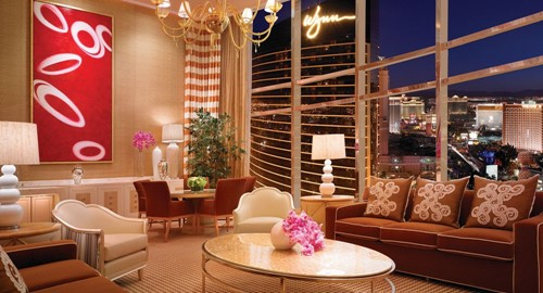 Three Bedroom Duplex Room At Wynn Las Vegas