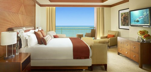 AZURE SUITES Room At Atlantis at Paradise Island Resort and Casino