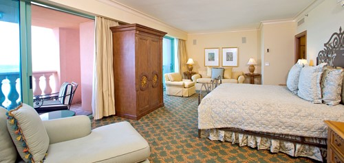 Presidential Suites Room At Atlantis at Paradise Island Resort and Casino