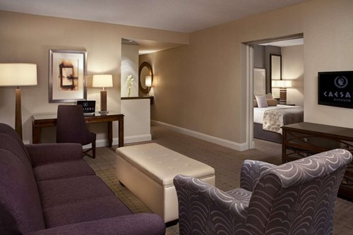 Junior Suite Room At Caesars Windsor