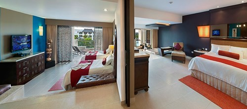 Signature Family Suite Room At Hard Rock Hotel & Casino Punta Cana