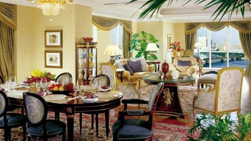 Royal Suite Room At Caesars Cairo