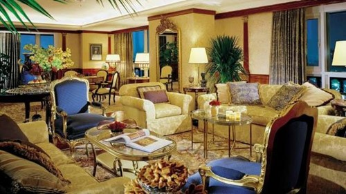 Presidential Suite Room At Caesars Cairo