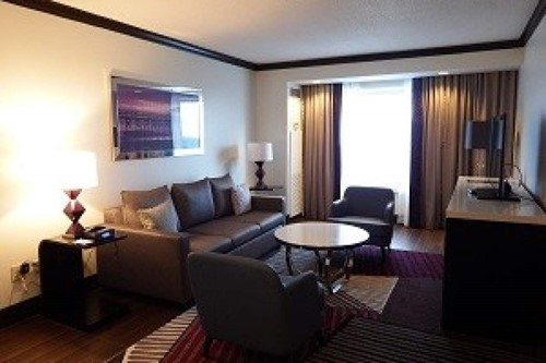 Parlor Suite Room At Harrah's Gulf Coast