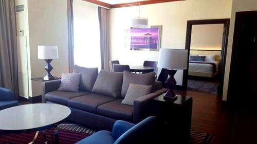 Parlor Suite Accessible Roll-In Room At Harrah's Gulf Coast
