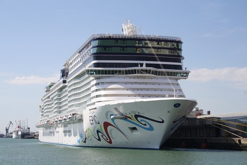 Norwegian Epic Ship At Norwegian (NCL)