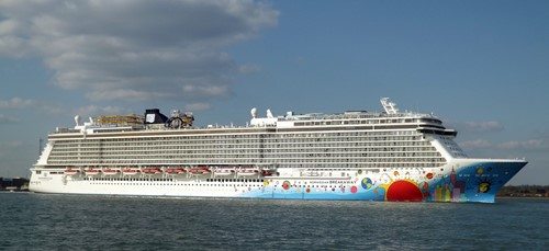 Norwegian Breakaway Ship At Norwegian (NCL)